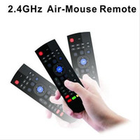X8 Mini Wireless Keyboard Fly Air Mouse Remote G Sensing Гироскоп Датчики MIC Combo MX3-M для MX3 MXQ M8 M8S M95 S905 STB Android TV BOX