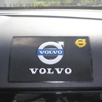 volvo tarzı toptan satış-Kaymaz Mat Iç aksesuarları kılıfı için Volvo S40 S60 S70 S80 S90 V40 V50 V60 V90 XC60 XC70 XC90 araba styling
