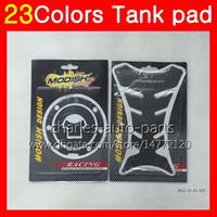 Wholesale Honda Cbr Gas Tank Protectors - 3D Carbon Fiber Gas Tank Pad Protector For HONDA CBR1000RR 04 05 06 07 CBR1000 RR CBR 1000 RR 2004 2005 2006 07 3D Tank Cap Sticker 23Colors