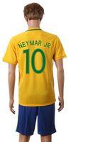 Wholesale Cheap Shirts For Soccer - 2016 17 Brazil Home #11 Neymar Jr Soccer Jerseys Brand Soccer Kits Cheap Football Shirt Highest Quality Soccer Wears for Sale