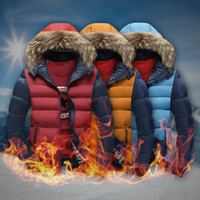 Wholesale Korean Men Jacket Free Shipping - Free shipping top quality new arrive Winter Men 's hooded cotton down short paragraph Korean coat removable hat thicker jacket