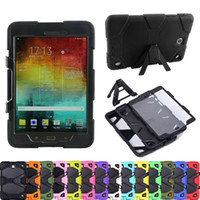 "Wholesale Waterproof Impact Case Wholesale - For Samsung GALAXY TabA 8.0"" T350 9.7"" T550 10.1"" T580 Armor Case Shock Drop-Proof Hybrid Impact Military Defender Protective Cover"