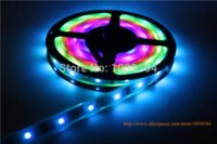 Wholesale Ip67 Led Strip 3528 - 5050 magic dream color changing digital led strip light 150leds individually addressable 6803 IC DC12V sleeving waterproof IP67