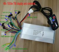 controladores de nível venda por atacado-36v48v800w1000w controlerdisplay grupo painel de controle 790 com interruptor de luz indicador de nível de bateria scooter de bicicleta elétrica par