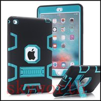 Wholesale S3 Fashion Cases - shockproof kick-off stand Defender Extreme Heavy Duty case for ipad air mini 2 4 pro 9.7 10.5 2017 Galaxy S3 T820
