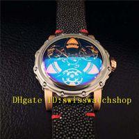 Wholesale Steel S4 - Luxury Brand 316L Stainless Steel Navigator-S4 #1601 Automatic Men's Watch Black Dial Black Devi Fish Skin Strap Mans Wristwatches