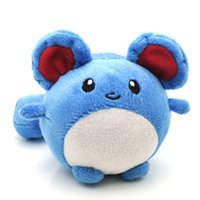 Wholesale Tomy Dolls - 11cm Pokémon Pocket Monsters Tomy Marill Plush Toy Soft Stuffed Animal Toys Doll Gift for Children