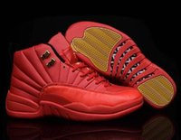 Wholesale Red Light Taxi - Retro 12 XII Basketball Shoes For Women Men Taxi Playoffs Wolf Grey Red Purple Sports Real Cheap Retro Shoes Sneakers 36-47 free shipping