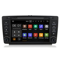 """Wholesale Din Bluetooth - 8"""" 2 Din Car DVD Player GPS Android 5.1 With 8GB Map Card Wifi 3G Bluetooth EX-TV CanBus For Skoda Octavia 2009-2012"""