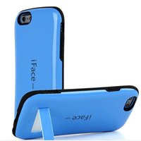 Wholesale Group Fit - Iface South Korea following from Iphone samsung contracted fashion hockey antifouling blue TPU + PC, mobile phone shell support group