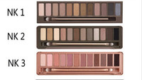 Wholesale 6pcs Nude colors eyeshaodw Eyeshadow Palette Eye Shadow With Brush makeup colors palette eyeshadow Brand New D931
