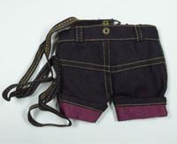 calças de brim da forma do saco venda por atacado-Atacado - Moda Jeans Pano Mobile / Cell Phone Bag, bonito Cowboy Zipper Purse, bolsa da moeda, Smart Pouch Wallet, saco de cartão, Denim Shoulder Bag