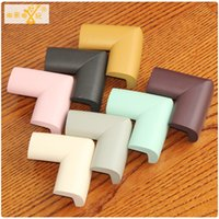 Wholesale Corner Safety Rubber - Wholesale- 4-8PCS Bigger Size Edge&Corner Guards Protect Baby Safety Product Soft Rubber Solid Corner Protector Bumper Baby Security Stuff