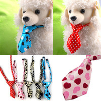 Wholesale Pet Accessories Toy - Color Adjustable Dog Cat Pet Puppy Toy Grooming Bow Tie Necktie Clothes puppy dress up neck tie suypply