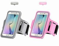 отметить браслет оптовых-Водонепроницаемый спорт тренажерный зал работает повязка чехол Чехол для Apple iphone 6s 6 Plus 5/5S Samsung Galaxy S5 S6 edge Примечание 5