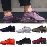Wholesale Factory Direct Fabric - Factory direct sale 2018 New Vapormax running shoes for Men Women Athletic Sports Sneaker Cross Hiking Jogging Walking Outdoor Qulity Shoes