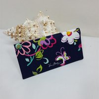 Wholesale Pillow Organizer - VB Cotton Checkbook Cover Card Holders