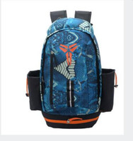 Wholesale Canvas Backpack For Fashion - Fashion KOBE Men Backpacks Basketball Bag Sport Backpack School Bag For Teenager Outdoor Backpack Marque Mochila