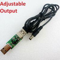 Wholesale 12v usb power supply - USB DC 5V TO 9V 12V 15V Step-up Boost Voltage Converter Power Supply Module for GoIP VOIP Gateway Solar Battery