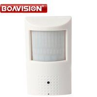 Wholesale Wired Pir Detector - PIR Style Motion Detector 25fps HD H.264 1080P IP Camera With PoE 940nm Leds Nightvision 2MP Onvif& P2P View Security Camera