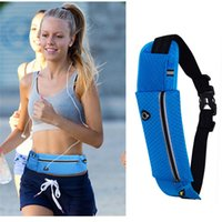 Wholesale Gym Workout Bags - Running Belt Workout Fanny Pack Running Bag Waist Pack for iphone Money Travelling Mountaineering Fishing Cycling
