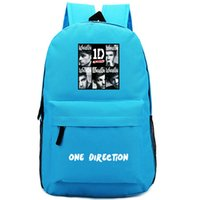 Wholesale One Direction Posters - Poster One direction backpack Band school bag 1D daypack Quality schoolbag New game play day pack