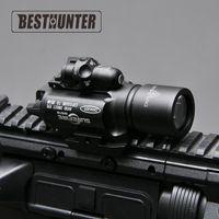 kırmızı av tüfeği avını led toptan satış-Surefire LED Tüfek X400 Avcılık Için Kırmızı Lazer Sight Ile Tabanca Feneri Için Tüfek Kapsam