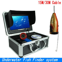 "Wholesale Ice Fishing Lcd Fish Finders - SY710 Professional Underwater Fish Finder system 7""LCD Monitor 1000TVL Video Underwater Camera Ice Lake Fishing camera+8G SD CARD ann"