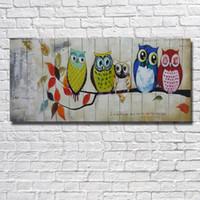 pinturas águias águias venda por atacado-Águia Imagens de Belas Artes feitas À Mão Pinturas A Óleo sobre Tela Belas Fotos Decorativas Sala de estar Decoração Da Parede Não emoldurado