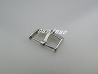 Wholesale 18mm Strap - 16mm 18mm 20mm New HQ Silver Polished Watch Band Strap Pin Buckle For Omega Watch