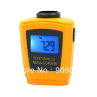 Wholesale Laser Measurer - Wholesale-Brand New LCD with Backlight CP3005 Ultrasonic laser point Distance measurer From 0.5 M to 18M Resolution 1CM or 1 2 Inch