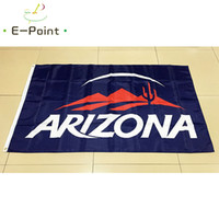 NCAA University of Arizona Wildcats Team bandera de poliéster 3 pies * 5 pies (150 cm * 90 cm) bandera Banner decoración volando regalos de jardín