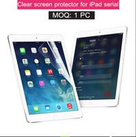 Wholesale Ipad Screen Protector Hd - Good HD clear screen protector for apple 2017 ipad pro 10.5 9.7 12.9 air mini 1 2 3 4 film