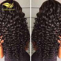 Wholesale cheap full natural curly wig - Top Selling Peruvian Full Lace Wigs Wholesale Cheap Human Hair Full Lace Wigs Can Be Dyed Lace Front Wigs For Black Women