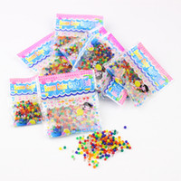 Wholesale mud water - New colourful Crystal puree beads Water Beads plant decoration Crystal mud household Decorative supplies children toys IA751