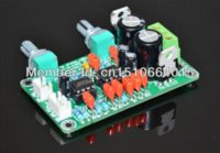 Wholesale Pass Amplifier - mono preamp board NE5532 low-pass filter board dedicated subwoofer,use in power amplifier board, mone mixer board Free Shipping