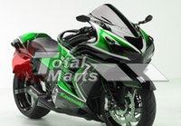 Wholesale Fairing For Ninja ZX14R ZX14 ZX1400 ZZR1400 Injection ABS Green F1322C