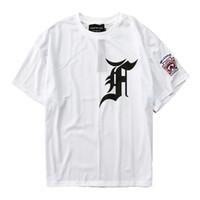 t-shirts de qualité supérieure achat en gros de-2018 Meilleur Qualité CRAINTE DE DIEU Cinquième Collection Hommes T-Shirt Justin Bieber Hip-Hop Maille T-shirt FOG Surdimensionné T-shirt