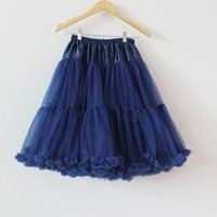 Wholesale Teenage Cloth Wholesale - Wholesale Extra fluffy Teenage girl Adualt women long pettiskirt tutu Women tutu Party dance adult skirt Performance cloth