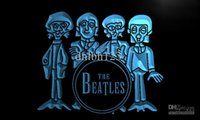 Wholesale Beatles Drum - LF167-TM The Beatles Drum Band Bar Neon Light Sign. Advertising. led panel, Free Shipping, Wholesale