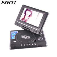 Wholesale Reading Playing Cards - 7.8 Inch Portable DVD Player Digital Multimedia Player U Drive Play with FM TV Game Card Read Function VCD DVCD MP4 MP5