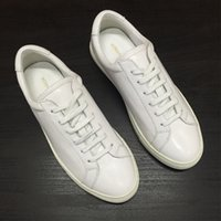 Wholesale Donna Brown - 2017 Common Projects By Women 1528 Sneakers Scarpe Donna Uomo Super Star Femme Goose Shoes Chaussure Homme Femme White