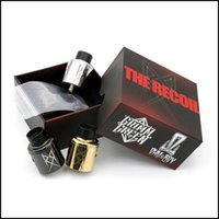 Wholesale Rebuildable Dripping Atomizer Sale - Hot sale Recoil RDA 24MM Clone 304 Stainless Steel Rebuildable Dripping Atomizers PEEK Fit 510 Mods box mod vape pen