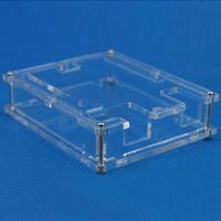 Wholesale Arduino Uno Case - Transparent Box Case Shell for Arduino UNO R3 not Raspberry pi model b plus B00310