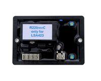 Wholesale Alternator Voltage Regulator - Generator analog AVR R220 Automatic voltage regulator with numerical regulation function for small alternator with SHUNT excitation