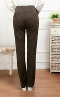 Wholesale Overalls Pregnant - Pants Of Pregnant Women Pregnant Women Pants Of vocational Overalls Maternity Pregnant Woman's Abdomen Fertilizer Increased Flares Height Pa