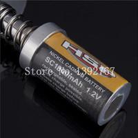 Wholesale Hsp Glow Plug Igniter - Remote Control Parts Accs Wholesale 10pcs Lot HSP 80101 1800mAh Rechargeable Glow Plug Igniter Ignition 1 10 R C Nitro Buggy Car Parts