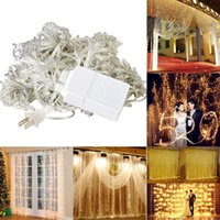 "2.2m/86.61""(Approx.) order garden decoration - New mx3m LED String Light Curtain Light for Wedding Garden Party Christmas Valentine s Day Room Decoration Led Fairy Lights order lt no"