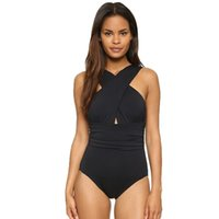 Wholesale Sexy Women s Swimwear One Piece Swimsuit Bandage Padded Monokini Beachwear Bathing Suit Size S XL