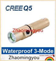 NEW Cree Q5 LED lampe torche Lampe rechargeable Lampe Torche 3-Mode Penlight Linternas Lanterna LED Waterproof # 1404
